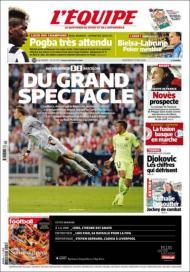 L'Équipe 13 maio