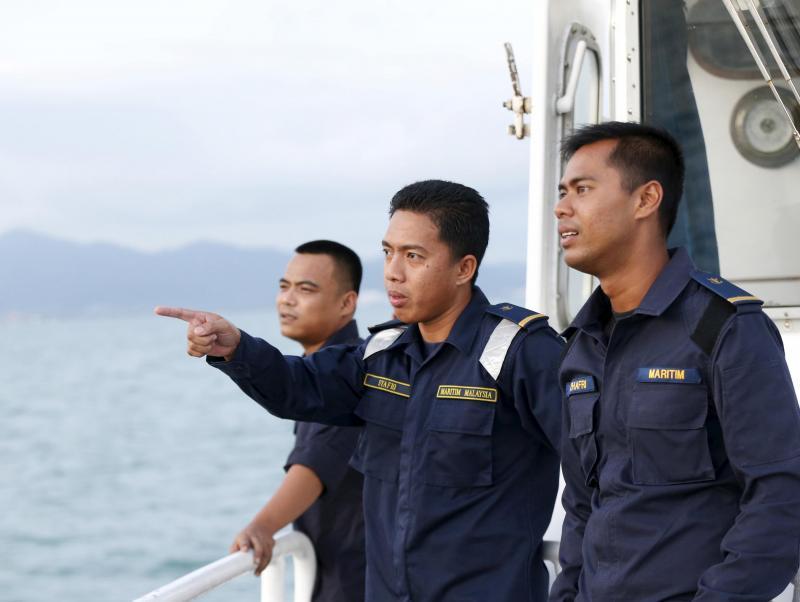Polícia Marítima da Malásia (Reuters)