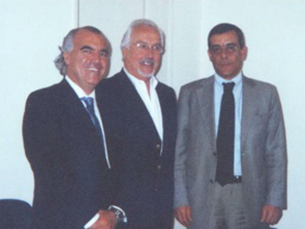 Francisco Banha, primeiro a contar da esquerda [Foto: Business Angels Club]
