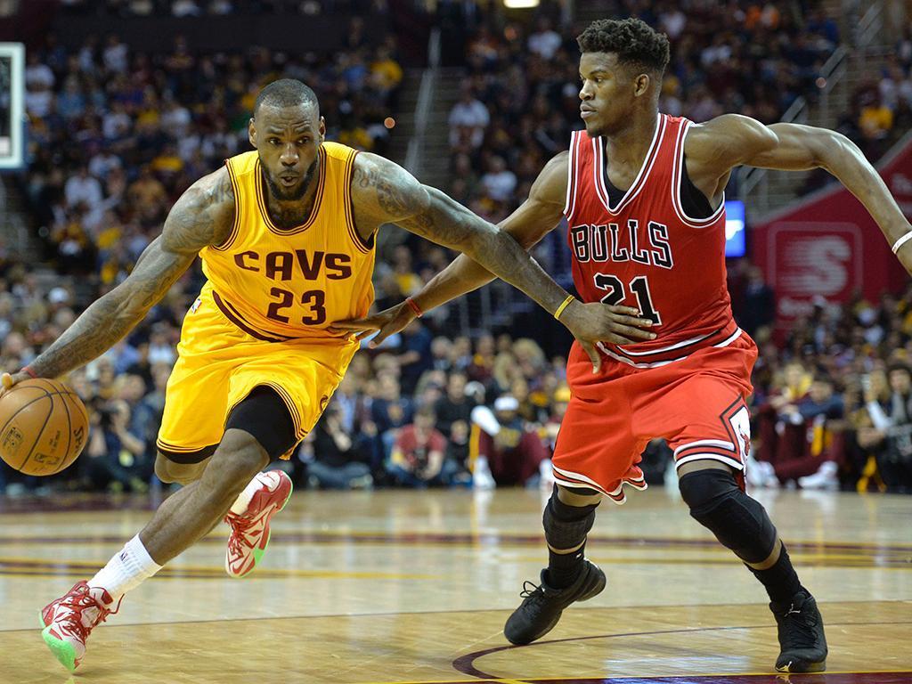 Cleveland Cavaliers-Chicago Bulls (Reuters)