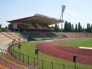 O palco da final da Liga dos Campeões feminina