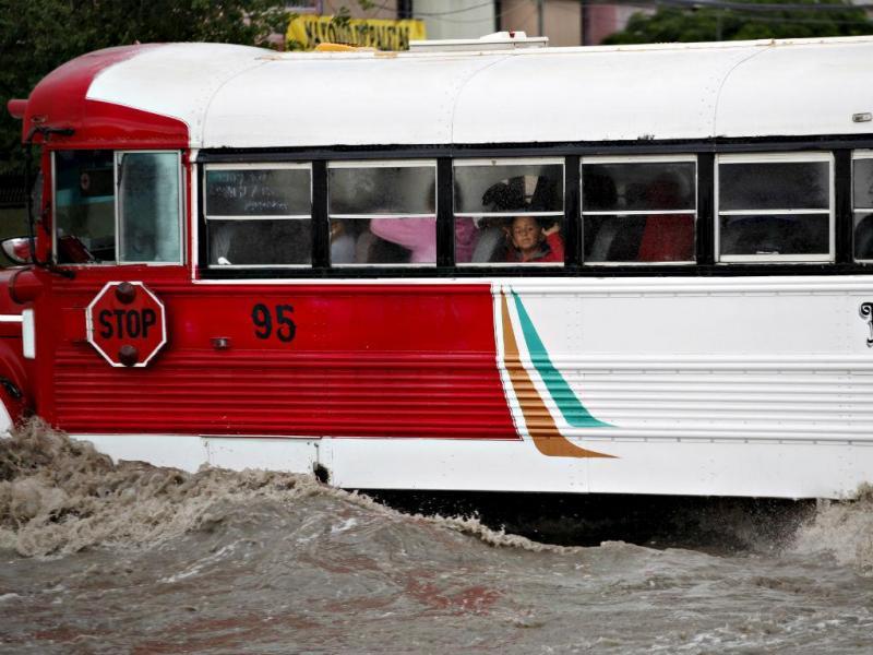 Cheias no México [Foto: Reuters]