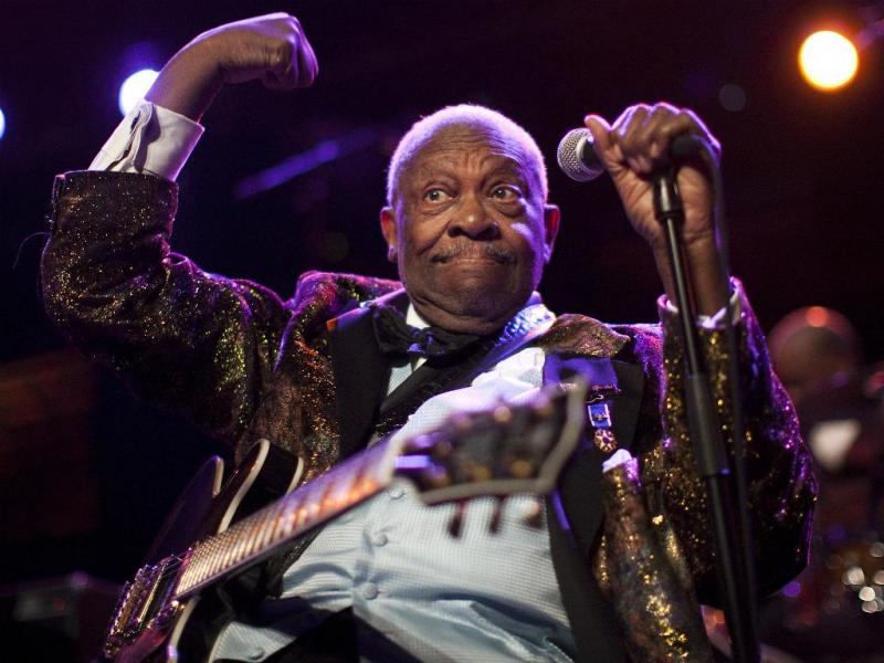 BB King no Festival Internacional de Jazz em Montreux, na Suiça [Foto:Reuters]