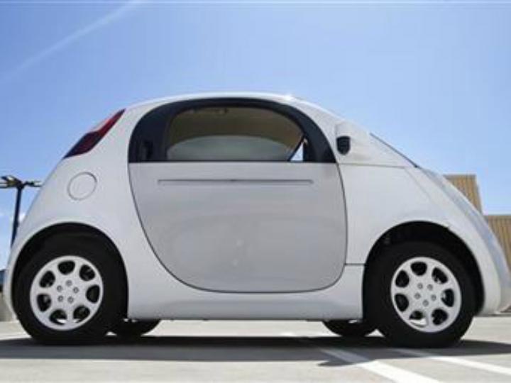 Veículo sem condutor da Google [Foto:Twitter]