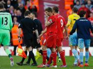 Liverpool Gerrard despedida Anfield (Reuters)