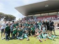 Sporting campeão de iniciados (Foto: Diogo Pinto/FPF)