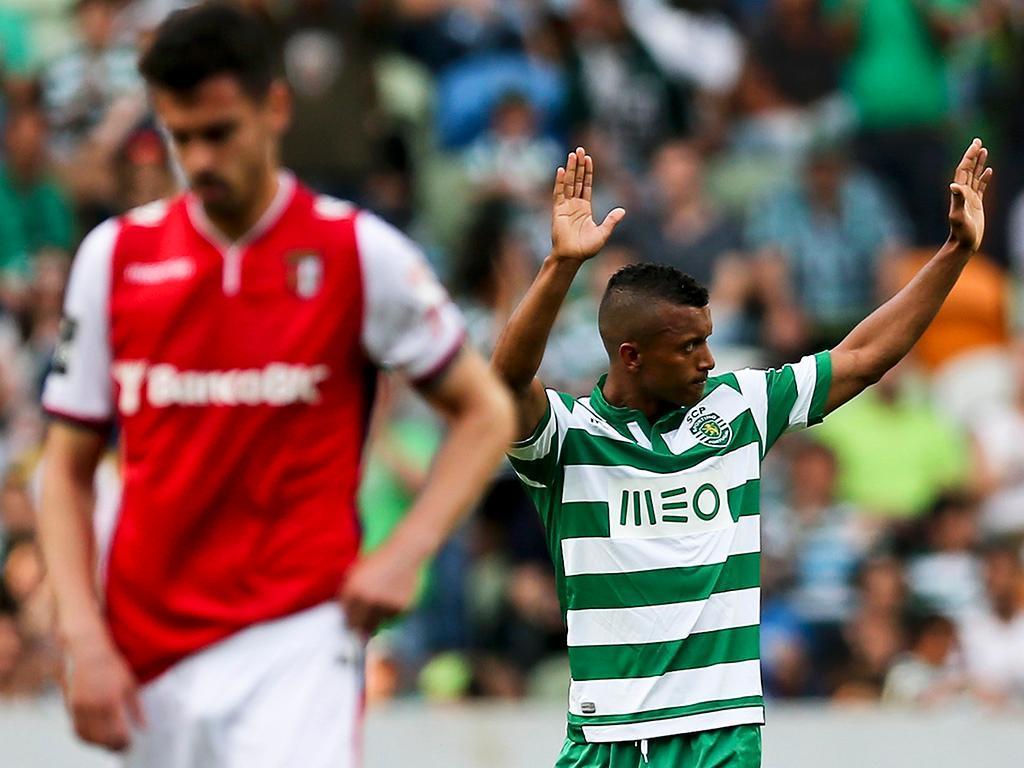 Sporting-Braga (LUSA/ José Sena Goulão)