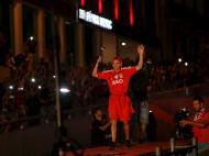 Benfica: a festa no Marquês de Pombal  (Reuters)