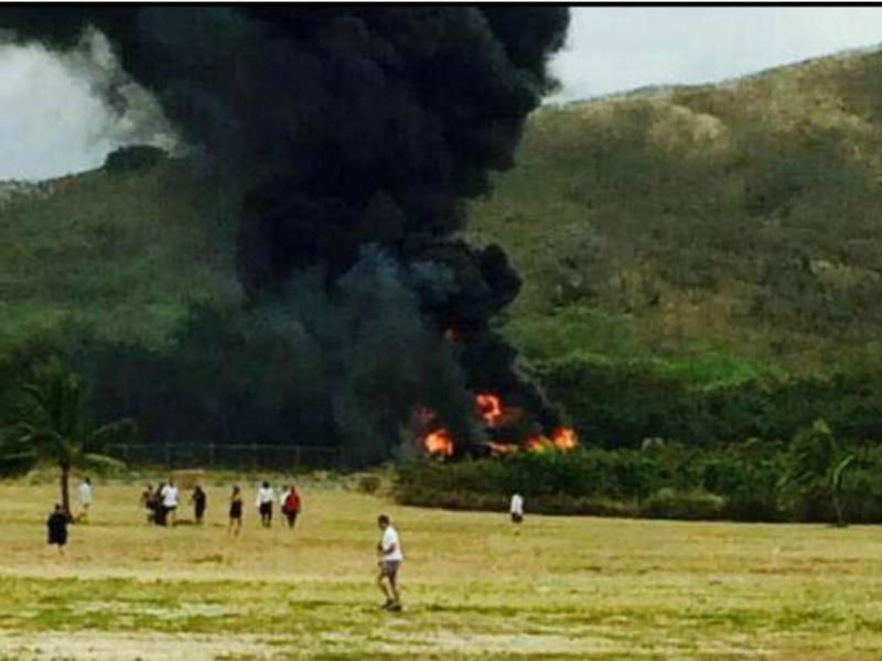 Acidente no Havai [Twitter]