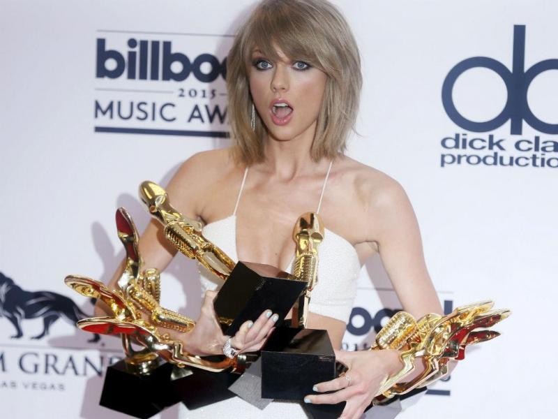 Taylor Swift venceu oito em 14 categorias para que estava nomeada nos Billboard music awards (REUTERS)