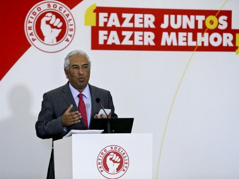 António Costa na apresentação do programa eleitoral do PS (Lusa)
