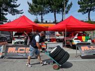 Preparativos do Rally de Portugal (LUSA)