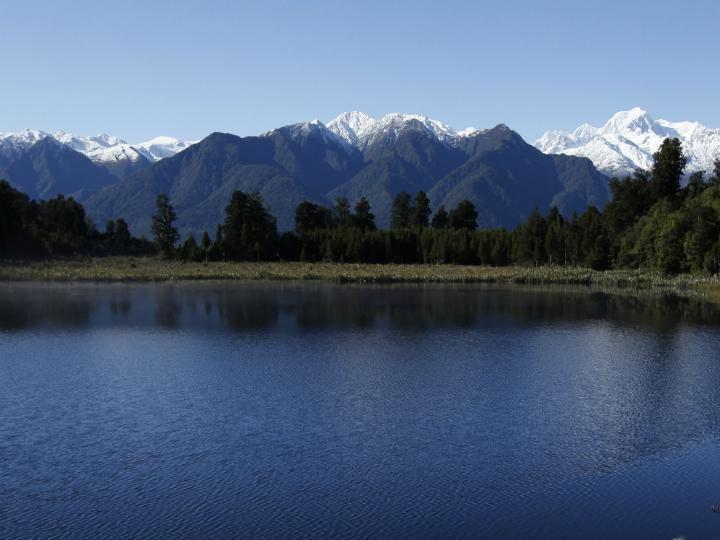 Monte Cook e Monte Tasman [Reuters]