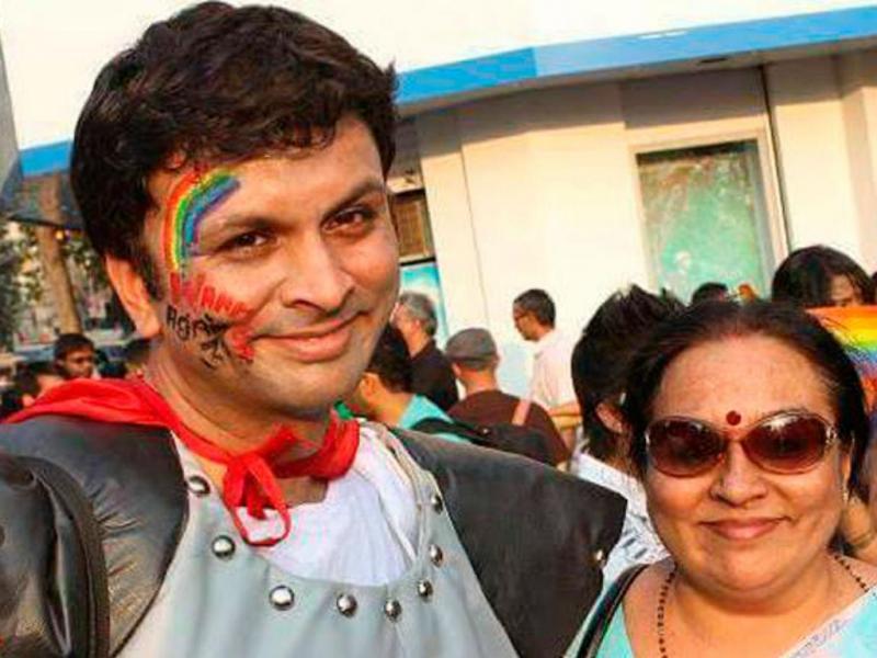 Harsih e Padma Iyer (Reprodução Facebook)