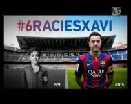«Para o ano não vou gostar de um Barça sem Xavi»
