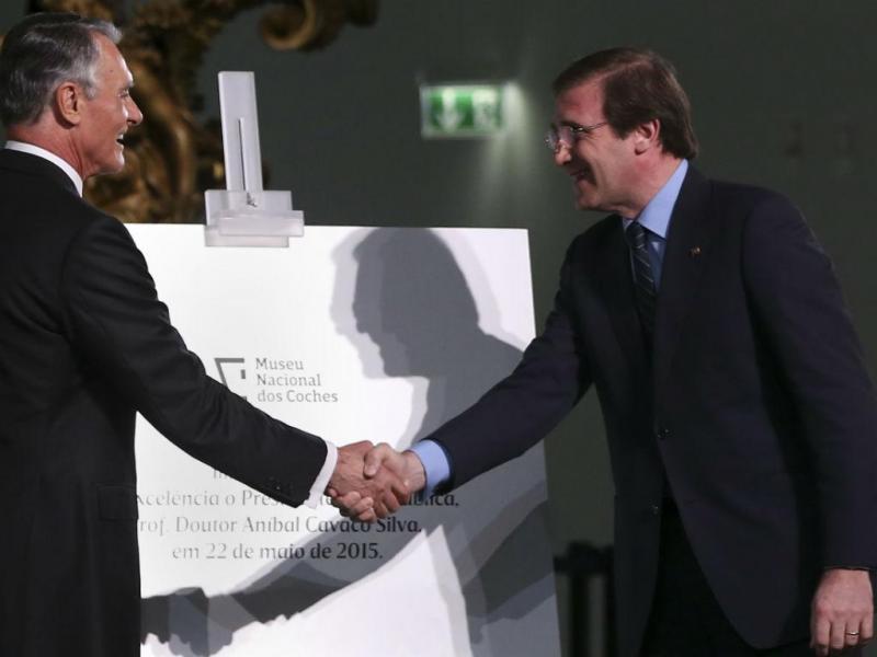 Cavaco Silva e Passos Coelho (LUSA)