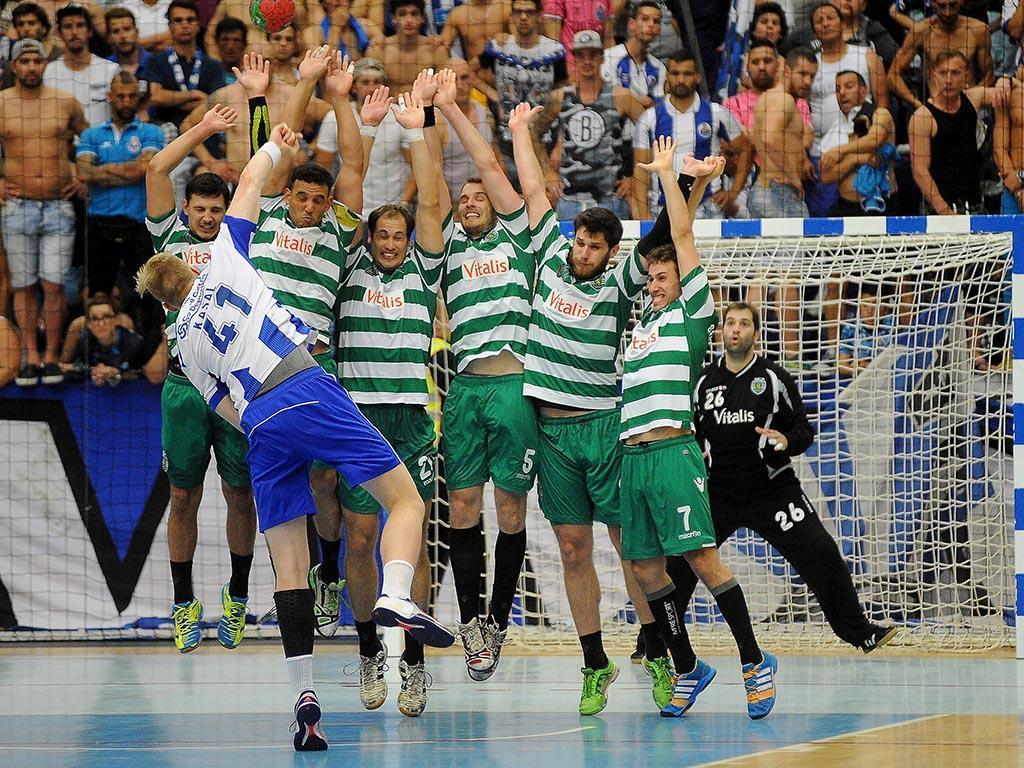 Andebol: FC Porto-Sporting (Lusa)