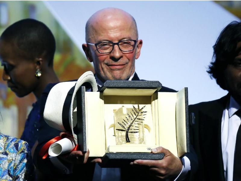 Francês Jacques Audiard vence Palma de Ouro de Cannes [Reuters]