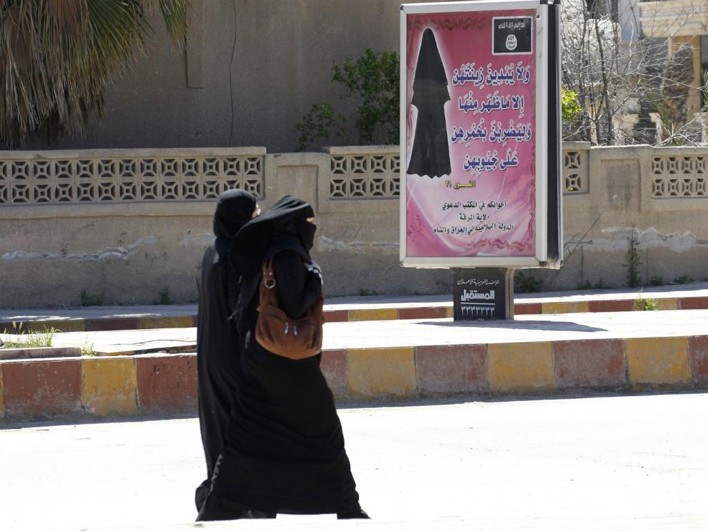 Mulheres no Estado Islâmico (Reuters)
