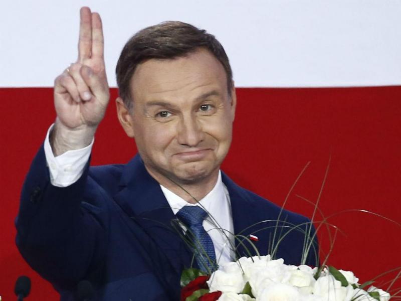 Andrzej Duda, o novo presidente da Polónia (REUTERS)