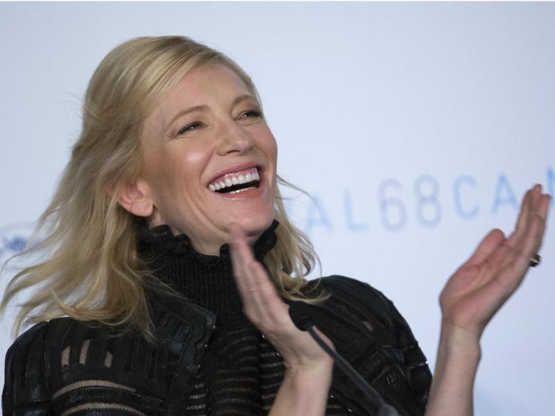 Cate Blanchett no Festival de Cannes 2015 (Reuters)