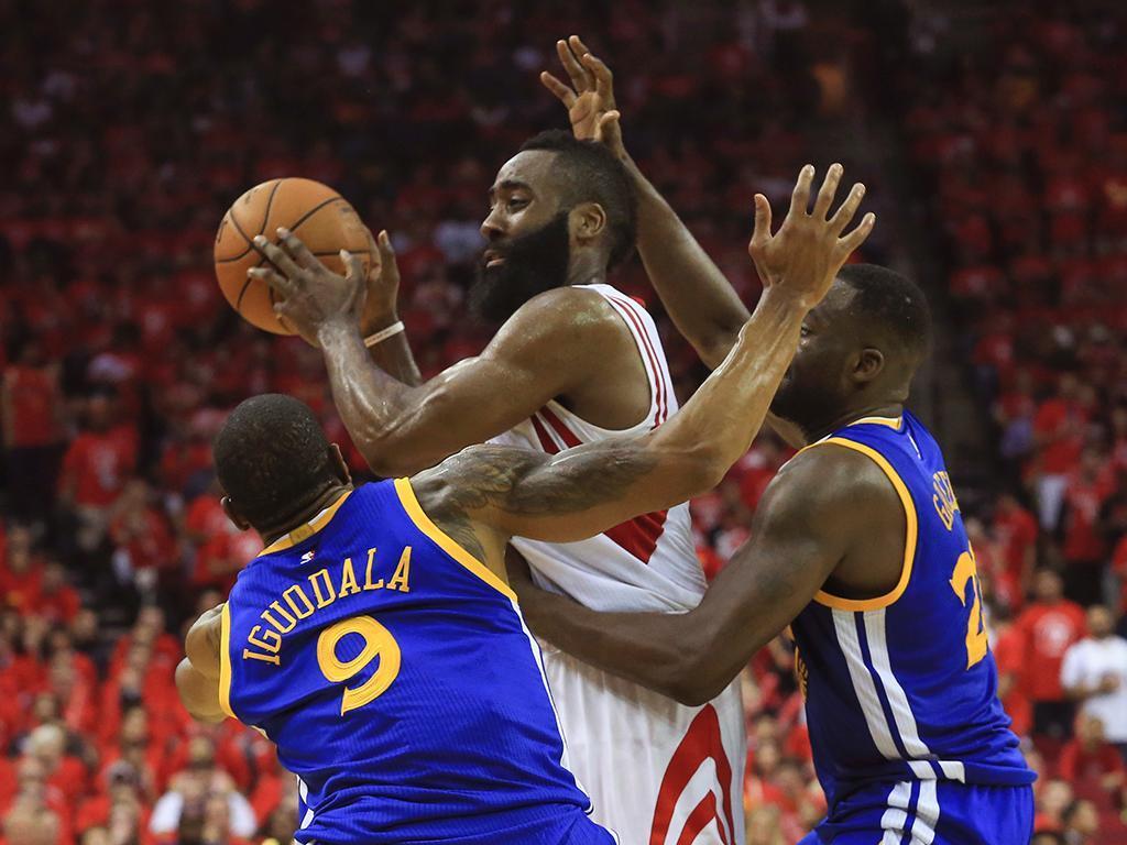 Houston Rockets x Golden State Warriors (Reuters)