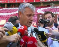 «Hoje o Benfica tem uma formação que permite apostar nos jovens»