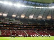 Liga Europa: Treinos e conferências de Dnipro e Sevilla (Lusa)
