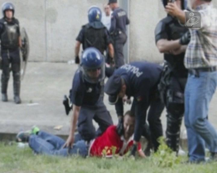 Guimarães: agente da PSP admite que teve ação menos correta [Foto: Delfim Santos/JN]