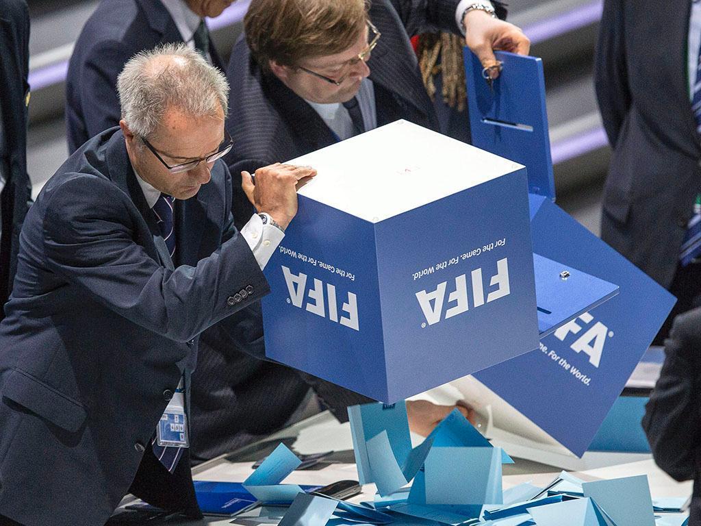 Eleições da FIFA em Zurique (EPA)