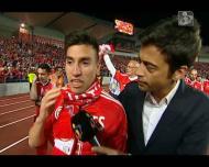 «Se estou feliz no Benfica? Sempre»