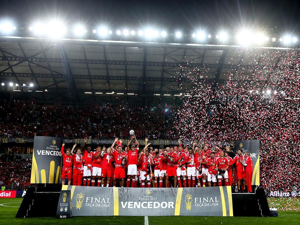 Benfica vence a Taça da Liga (LUSA)