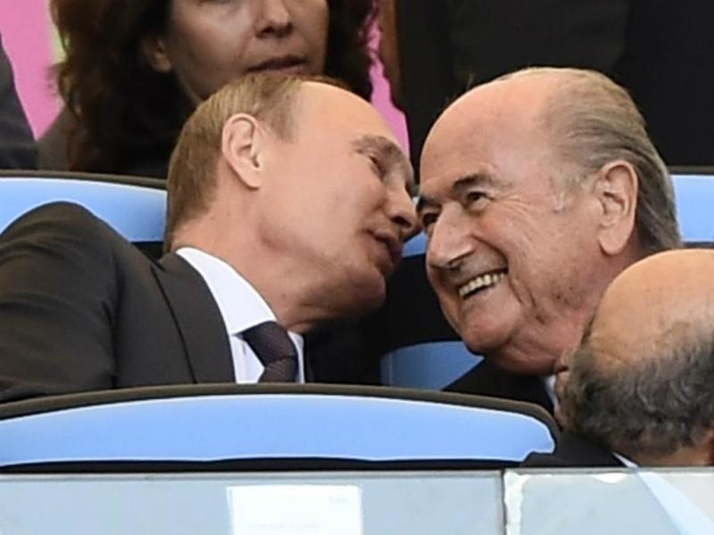 Putin e Blatter (Reuters)