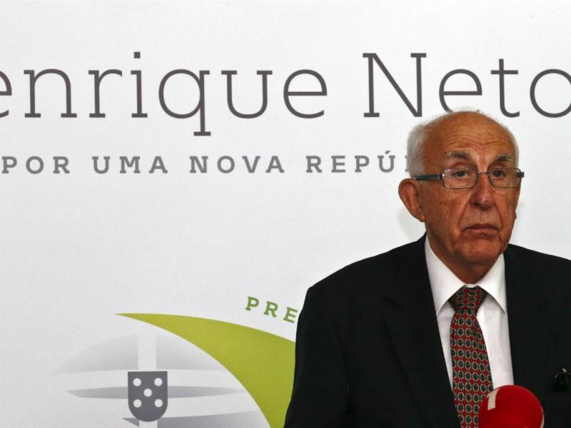 Henrique Neto [Lusa]