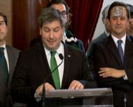 O discurso de Bruno Carvalho na Câmara de Lisboa