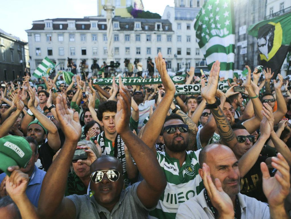 A festa do Sporting na Câmara de Lisboa