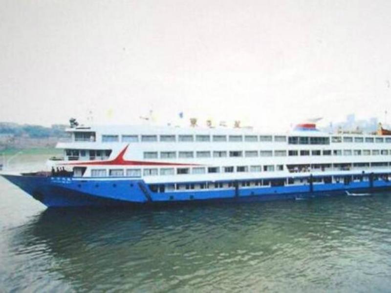 Barco com 400 pessoas a bordo naufraga na China (Reprodução/Chinanews)