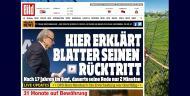 Revista de Imprensa demissão de Joseph Blatter