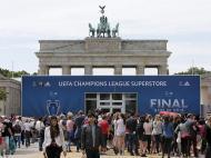 Bola Liga dos Campeões em Berlim