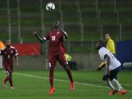 Qatar-Portugal: Mauro Riquicho em ação