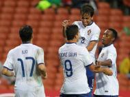 Qatar-Portugal: Francisco Ramos e Gelson celebram golo de André Silva
