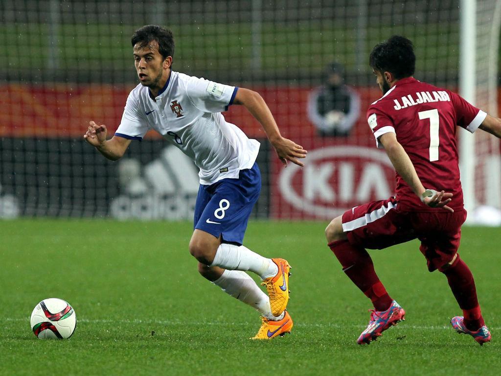 Qatar-Portugal: Francisco Ramos conduz a bola