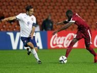 Qatar-Portugal: Tomás Podstawski em ação