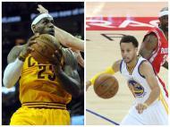 LeBron James e Stephen Curry