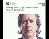 A reação das redes sociais à ida de Jorge Jesus para o Sporting