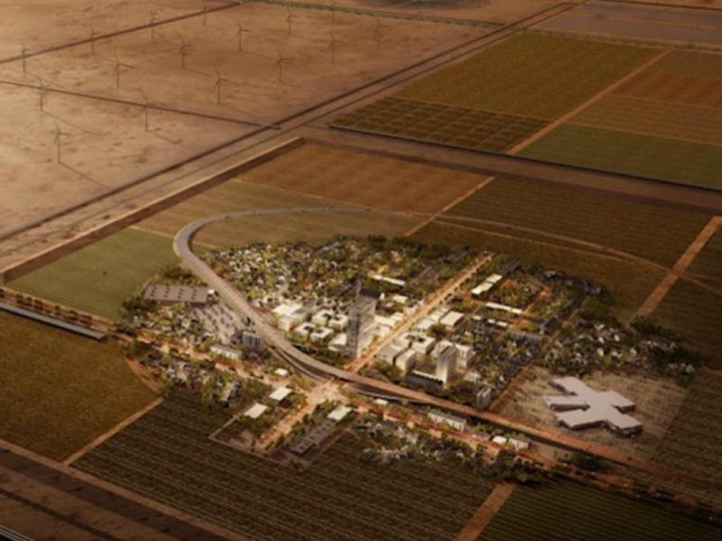 Empresa americana constrói cidade falsa para testar drones