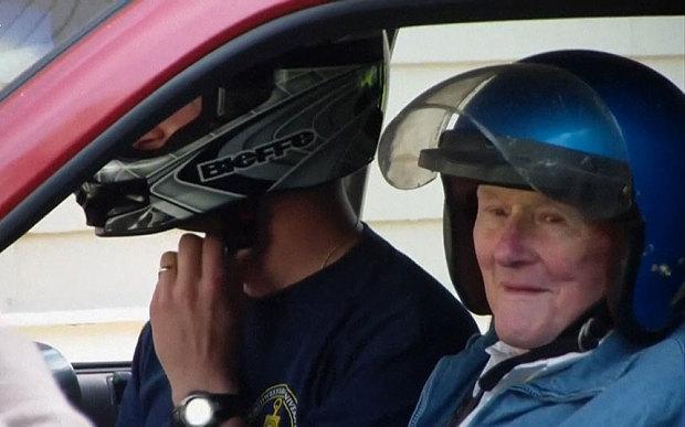Homem de 91 anos realiza sonho de vida