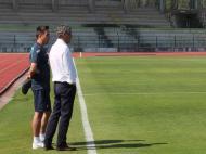 Fernando Santos com Rui Jorge (foto: FPF)
