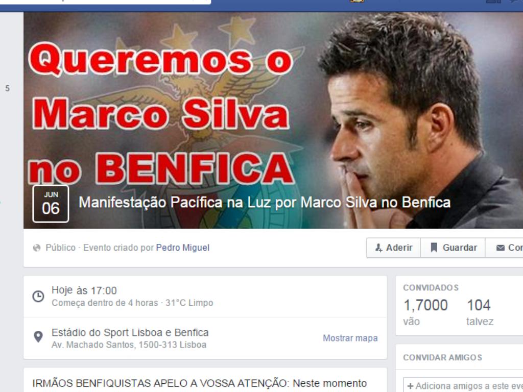 Marco Silva Benfica