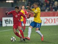 Sub-20: Brasil-Coreia do Norte (Lusa)